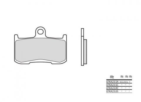 Points de contact pour Ford Escort 100E 1953-57 Remplacement Lucas 407050 CS122