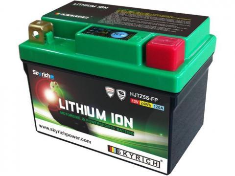 Skyrich Batterie Lithium YTZ5 BS: : High tech