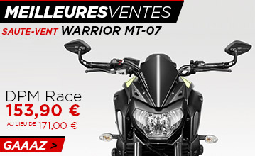 Saute vent warrior MT-07 (2018)