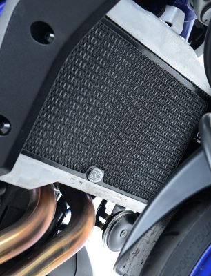 Protection de radiateur noire R&G MT-07 / Moto Cage / Tracer, XSR700. Protection de radiateur noire R&G MT-07 / Moto Cage / Tracer, XS