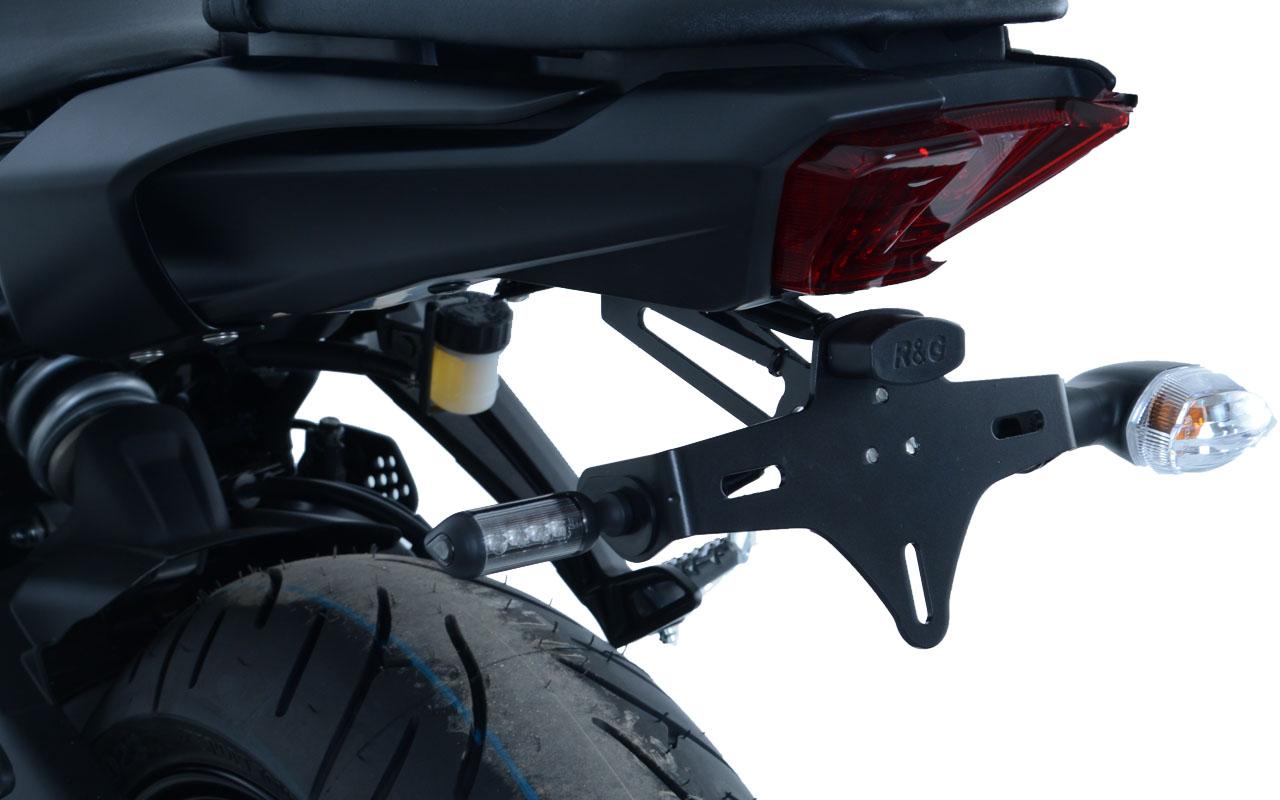Support de plaque R&G MT-07 / Moto Cage (2014-2019). Support de plaque R&G MT-07 / Moto Cage (2014-2019)