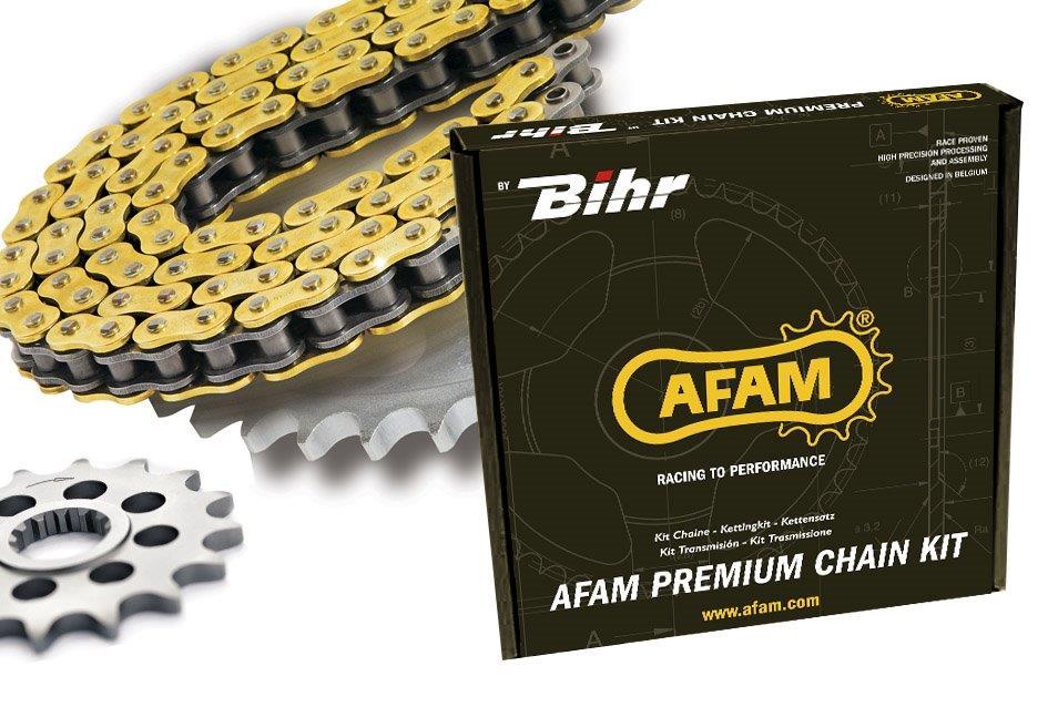 Kit chaîne AFAM 520 XSR alu GSX-R600 (1997-2000)