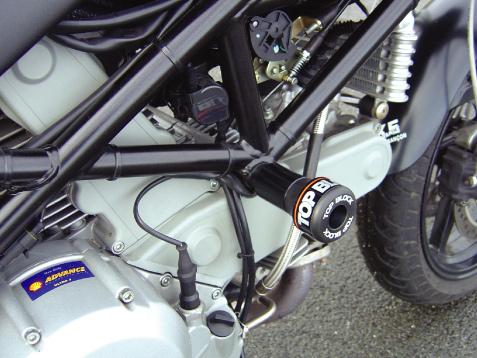 Roulettes de protection Top Block Monster 600 / 750 / 900 (1993-2002)