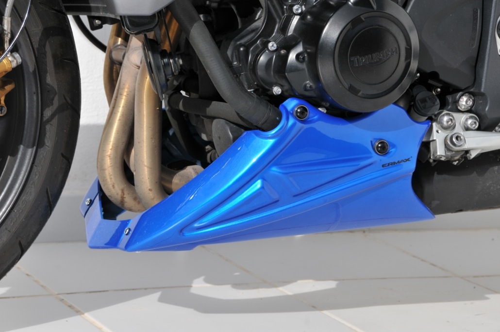 Sabot moteur 3 parties Ermax Street Triple 675 / R (2013-2015). Sabot moteur Ermax en ABS choc thermoformé.     Plusieurs couleurs dispon