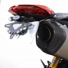 Protections lat/érales pour r/éservoir en r/ésine 3D compatible avec Ducati Streetfighter V4 L-095