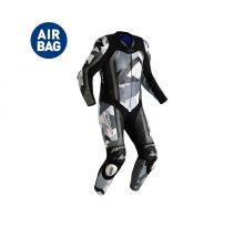 Combinaison RST Pro Series Airbag cuir gris/camo