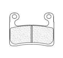 Plaquettes de frein CL Brakes 1257C60 métal fritté