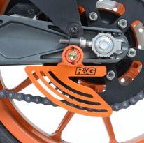 Protège couronne noir R&G 701 Vitpilen, RC125 / 200 / 390