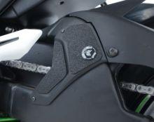 Adhésifs anti-frottement bras oscillant/silencieux R&G Ninja H2 / H2R