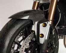 Garde boue AV LighTech carbone brillant Speed Triple 1050 / R (11-15)