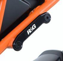Obturateurs de repose-pieds AR R&G RC125 / 200 / 390 (14-16)