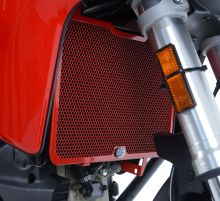 Protection de radiateur rouge R&G Multistrada 950 / S (17-19)