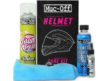 Kit entretien MUC-OFF Helmet Care Casque et Visières