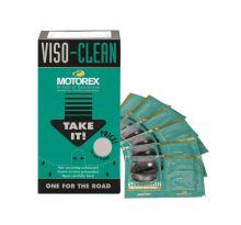 Lingettes nettoyantes Motorex Viso Clean 12 sachets de 6