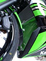Protection de collecteur verte R&G Ninja 650 (17-19)