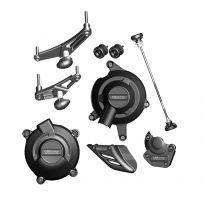 Kit protection moteur complet RACE GBRacing Daytona / Street Triple / R (11-12)