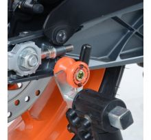 Pions de bras oscillant orange R&G M8