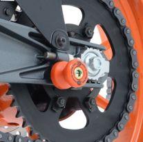 Pions de bras oscillant orange R&G Kawasaki / KTM