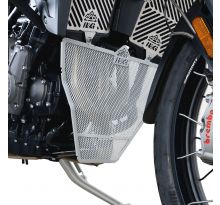 Protection de collecteur argent R&G Tiger 900 / GT / Rally
