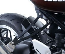 Kit suppression repose-pieds AR noir/argent R&G Z900RS / Café (18-19)