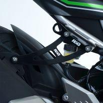 Kit suppression repose-pieds AR R&G Ninja 125 / Z125 (19)