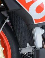 Protection de radiateur d'eau noire R&G RSV4RF / RR, Tuono V4 1100 / RR