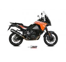 Silencieux homologué MIVV Speed Edge inox noir 1050 / 1090 / 1190 / 1290 Adventure