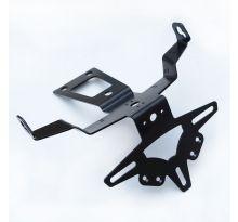 Support de plaque R&G Hypermotard 950 (19-20) avec silencieux Termignoni