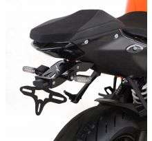 Support de plaque R&G noir 1290 Super Duke R (2020)
