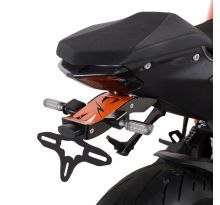 Support de plaque R&G noir/orange 1290 Super Duke R (2020)
