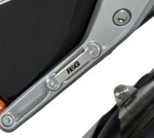 Obturateur de repose-pieds AR gauche R&G 690 Duke / R (2012-2014)