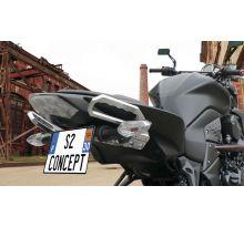 Poignées passager arrière S2 Concept Z750 / R, Z1000 (07-09)