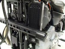 Protection de radiateur d'huile noire R&G XR1200 (08-13)