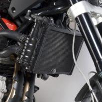 Protection de radiateur noire R&G Nuda 900 / R (12-13)