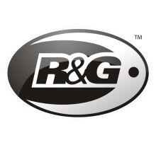 Obturateurs de repose-pieds AR argent R&G MT-07 (14-20)