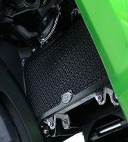 Protection de radiateur noire R&G Versys X-300 (17-19)