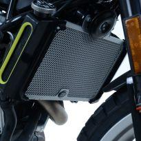 Protection de radiateur noire R&G 390 Duke (17-19), 401 Vitpilen