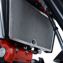 Protection de radiateur noire R&G Shiver 900 (17-19)
