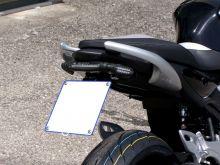 Support de plaque + kit réglable AEROLED SVF650 Gladius (2009-2014)