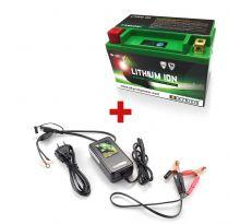 Pack Batterie Lithium Skyrich YTX5L-BS / HJTX5L-FP + Chargeur