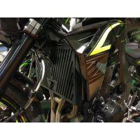 Grille de radiateur noire Z750 / R (07-12), Z800 / E, Z1000 / R / SX (07-19)