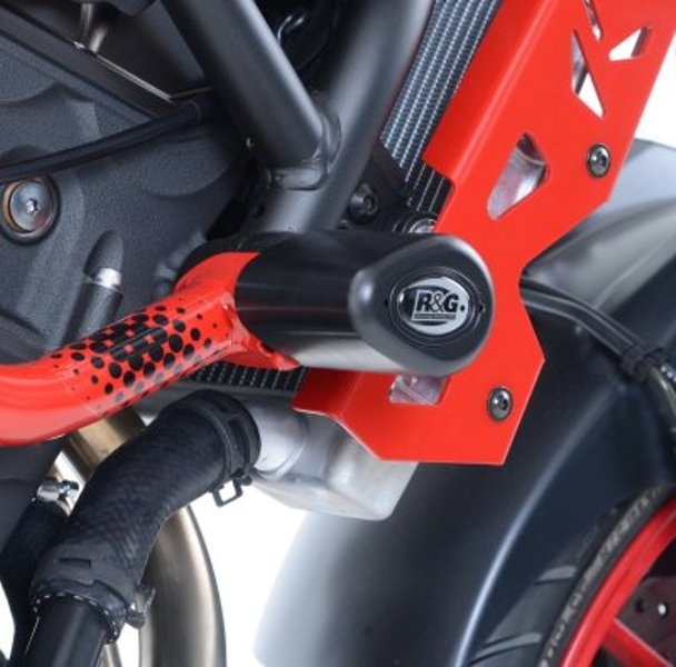 Tampons de protection AERO R&G MT-07 Moto Cage (15-16). Tampons de protection AERO R&G MT-07 Moto Cage (15-16)