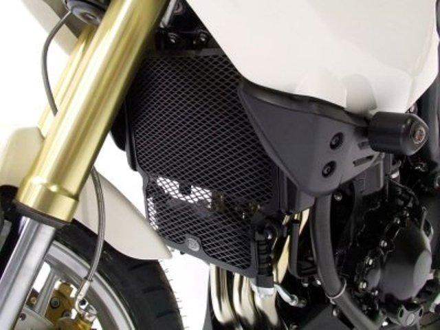 Protection de radiateur noire R&G Tiger 1050 / Sport (07-18). Protection de radiateur noire R&G Tiger 1050 / Sport (07-18)