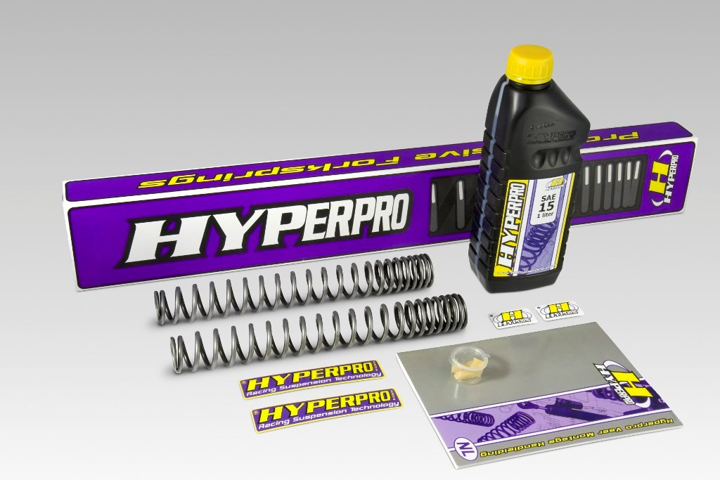 Ressorts de fourche progressifs Hyperpro G650 X-Moto (2007-2010). Ressorts de fourche progressifs Hyperpro G650 X-Moto (2007-2010)