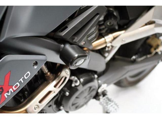 Tampons de protection AERO R&G G650 X-Challenge, X-Country, X-Moto. Tampons de protection AERO R&G G650 X-Challenge, X-Country, X-Moto
