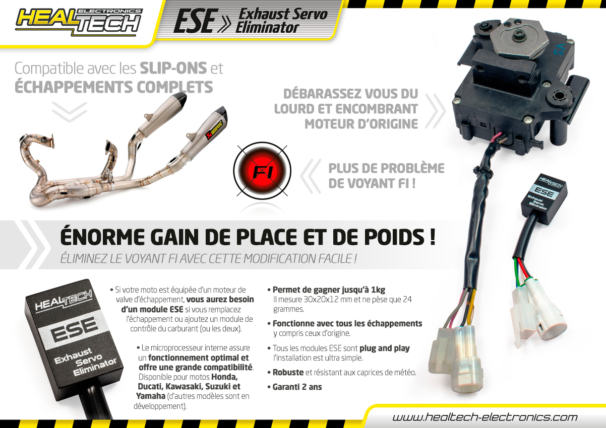 Exhaust Servo Eliminator (éliminateur de valves) - SBA-France.com